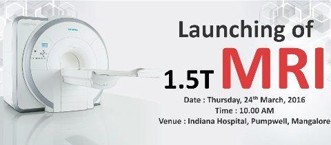 Launching of MRI