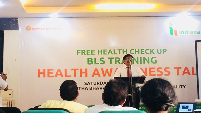 Dr Yusuf Kumble talk on LifeStyle Modification to Prevent Heart Attack