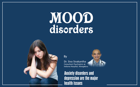 Anxiety disorders and depression are the major health issues