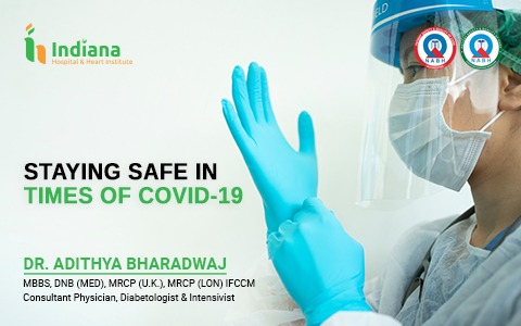 STAYING SAFE IN TIMES OF COVID-19