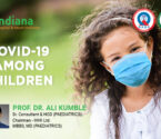 COVID-19 AMONG CHILDREN <br>By  Dr. Ali Kumble